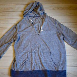 Old Navy striped hoodie